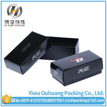 Factory Custom Black Paper Sunglasses Packaging Boxes