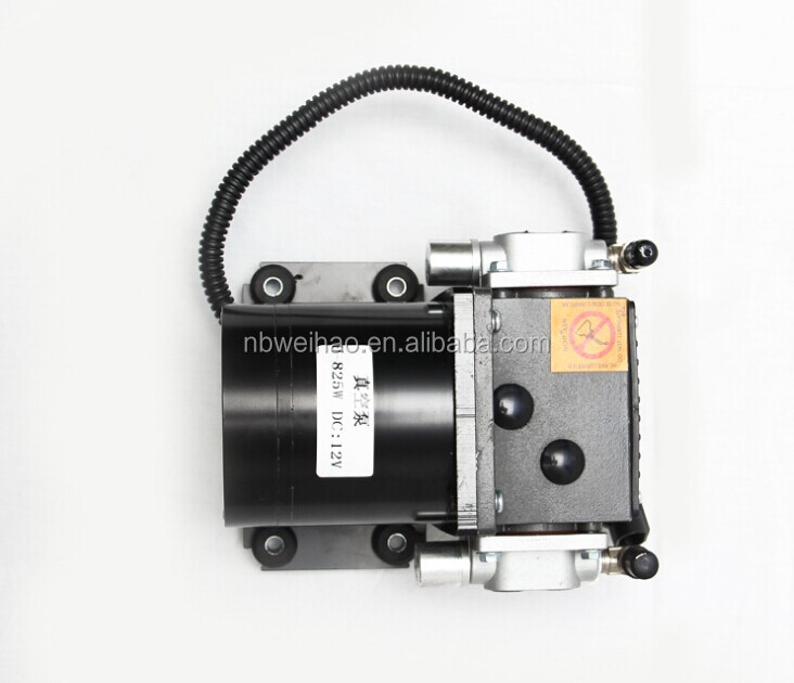 Electric car using DC 12V mini vacuum pump
