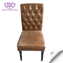 whosale cheap high quality classical leather wood chair for hotel and banquet