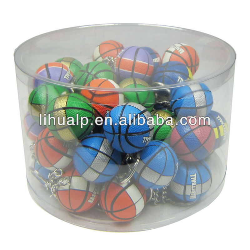 Hot selling!basketball themed gifts ball key chain promotional gift
