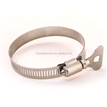 Dongguan Chuanghe Made High Quality stainless steel 201/304/316 american type hose clamp/hose hoops/clips