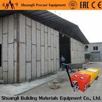 precast cement concrete hollow cored floor slab machine