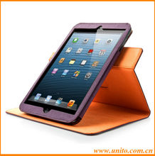 wholesale new product creative rotating leather case,for ipad air rotating case