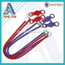 Promotional Casino Bungee Cord lanyard Split Ring wholesale