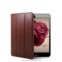 Voocase Special offer Fashion PU smart cover stand case for iPad mini cover case