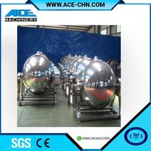 Stainless Steel Gas Burner Heating Jacketed Kettle