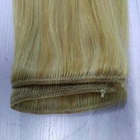 Factory wholesale remy human hair fish line hair mixed blonde color brazilian hair