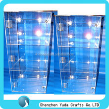 custom acrylic display cabinet locking China custom acrylic display case lockable cabinet manufacturer clear display cabinet