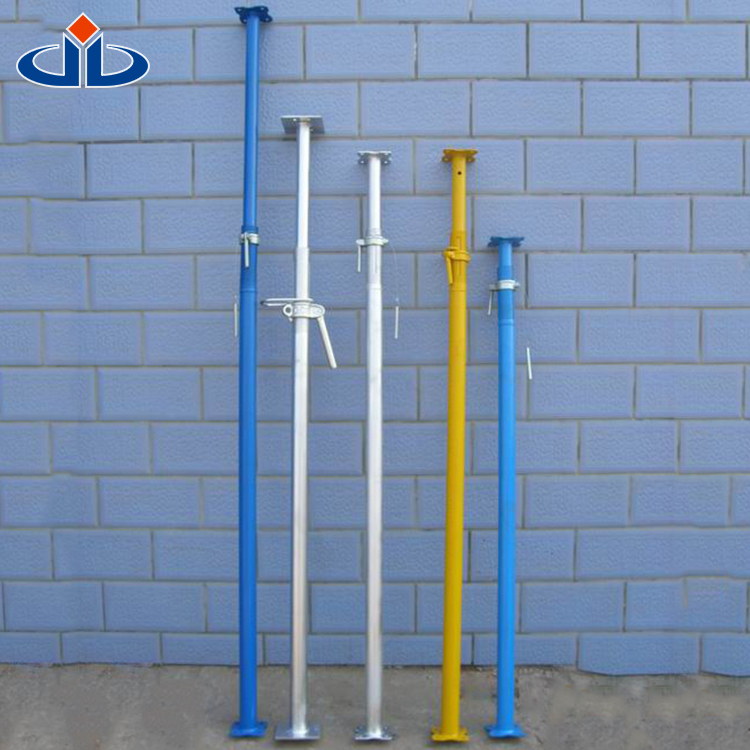 Q235 Q195 Material Out Tube OD 60/56 MM Formwork Props Normal Nut Scaffolding Steel Props