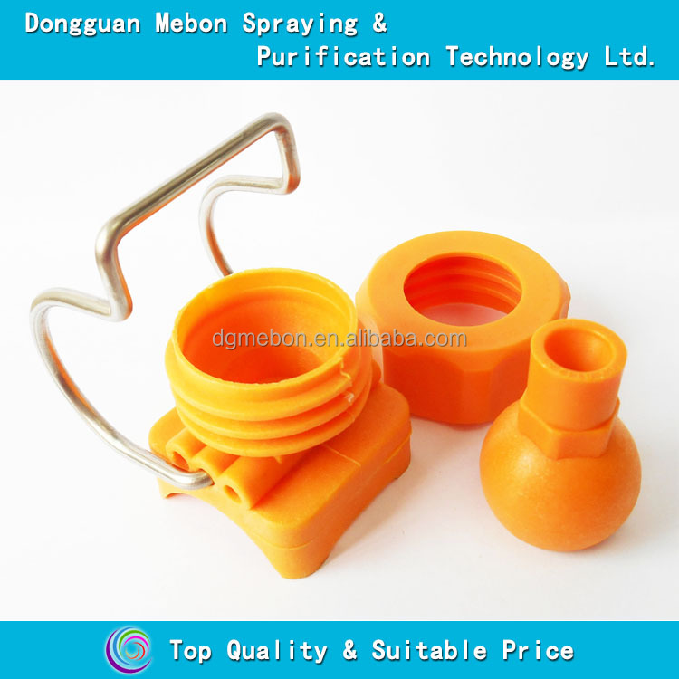 Strong cleaning adjustable nozzle,fiber reinforced plastic clamp nozzle