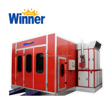 M3200D WINNER Luxury Model Spray Booth with Active Carbon Cabinet Filter System