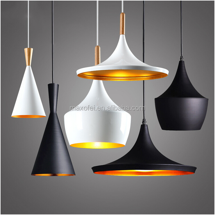 Nordic style indoor aluminum overhead lamp for home/resraurant/cafe decoration
