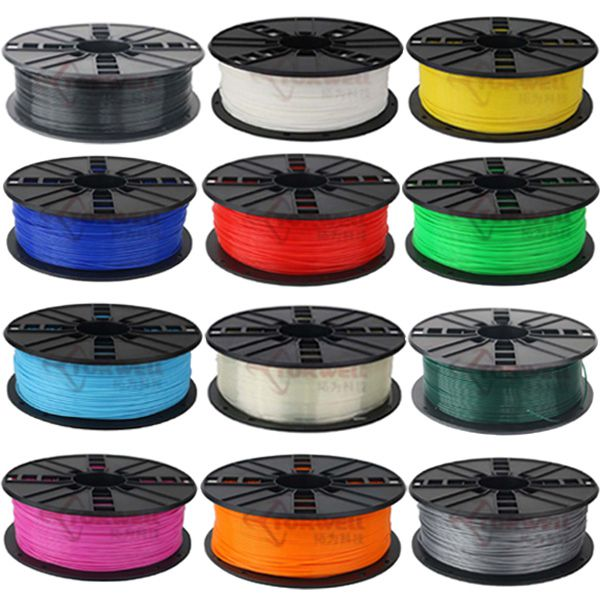 Torwell 1.75mm 3.0mm PLA/ABS/Wood Plastic Filament for Makerbot,Prusa,Huxley,BFB 3D printer