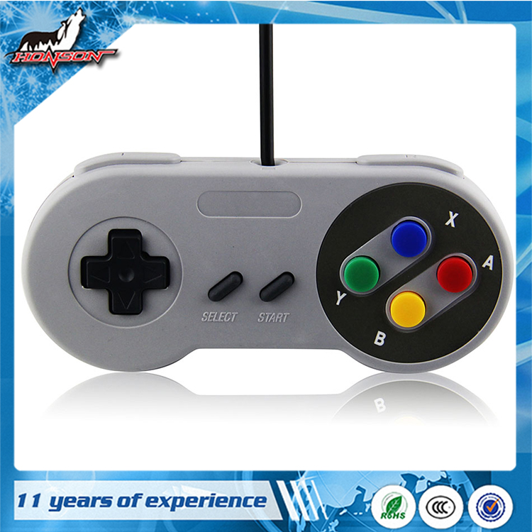 Classic PC Wired Controller Gamepad Joypad for SNES console/Windows PC