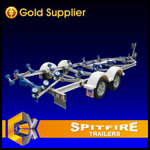 Customized Aluminium Boat Trailer Frame for Long Boat