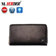 Rfid real work smart wallet top brand name men's genuine leather wallets