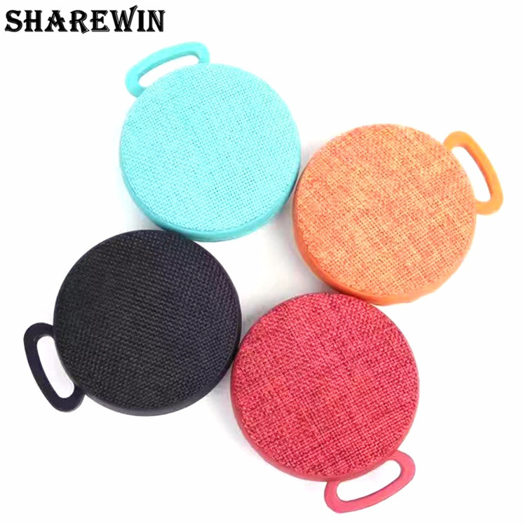 Mini Bluetooth Speaker Portable Wireless Speaker Outdoor Sport Small Volume Big Sound Cloth Speakers