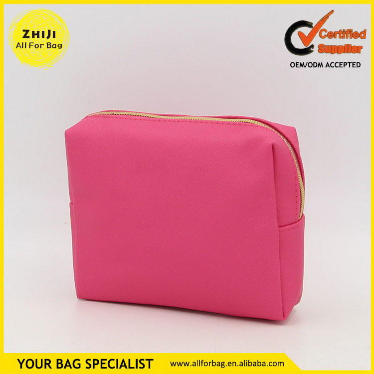 Practical hot sell canvas cosmetic case make up bag