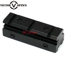 Vector Optics 11mm 10mm Dovetail Rail to 21mm 20mm Weaver Rail Mount Adapter Fit Gun Accessories