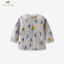 SAMBEDE 1-5T Infants& Toddlers Long Sleeve Clothes for Baby Boys in Winter Warm& Soft Frabic SM7D30643