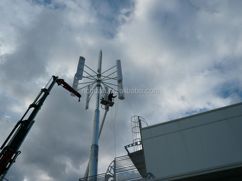 10KW Low RPM Vertical axis wind turbine