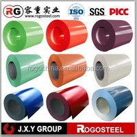 China ral color coated prepainted galvanized steel coil