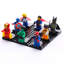 Super Heroes Series Figures Set of 8 pcs Building Toys 100% Compatible with LEGOS