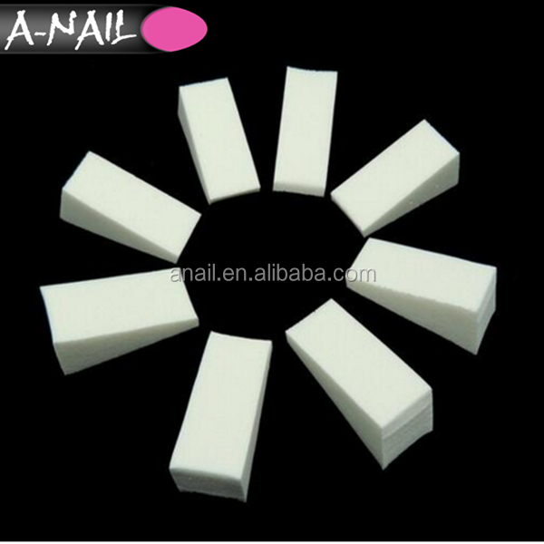 2017 Gradient Nail&Hollow Sticker Soft Sponge Color Fade Natural Magic Stamper Pedicure Manicure Nail Tool