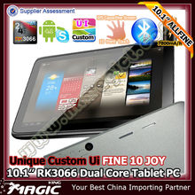 10 inch FINE10 Joy rk3066 dual core tablet pc