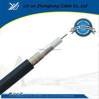High Quality RG7 siamese coaxial cable Made in China