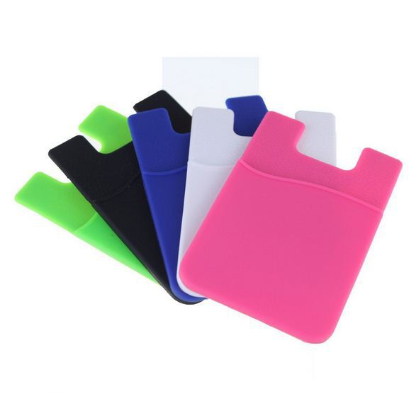3M Adhesive Card Pouch Sticker Credit Card Holder Sleeve Cover Universal Phone