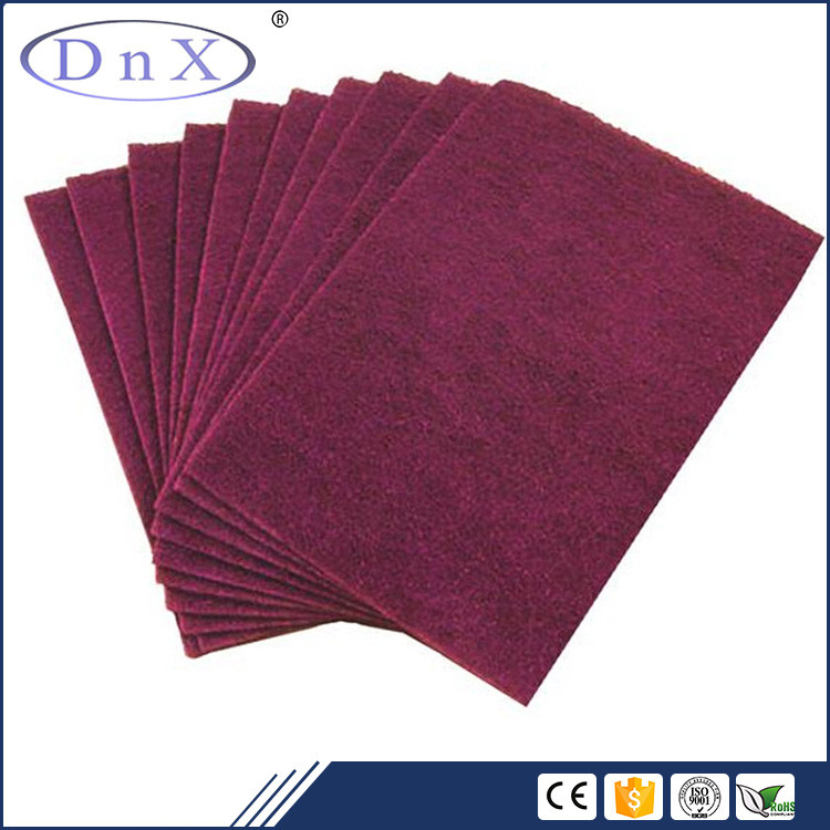 P180-2000 durable non-woven pad for metal/stainless steel/hardware