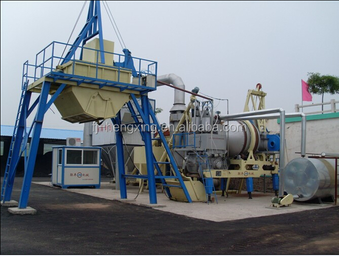 Mobile Asphalt Mixing Machine Asphalt Batching Plant asphalt mix machine QLB40