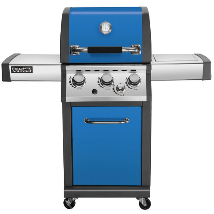 Top quality colorful barbecue gas grill with CE ETL CSA