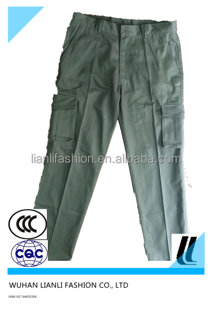 mens fashion cargo pants with multi pockets
