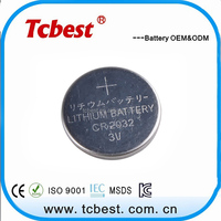 High quality battery for shenzhen cr2030 battery/button cell cr1820 battery