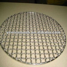 Cheap!!! BBQ grill/ 304 stainless steel crimped mesh/ barbecue wire mesh