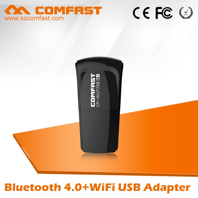 COMFAST CF-WU725B 2016 Newest Bluetooth 4.0 + WiFi Unique Wireless USB Adapter