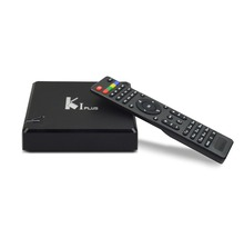 Hot Selling KI PLUS Amlogic S905D Quad core 64-bit Support DVB-T2 DVB-S2 1G 8G 1080p 4K Android 6.0 TV Box