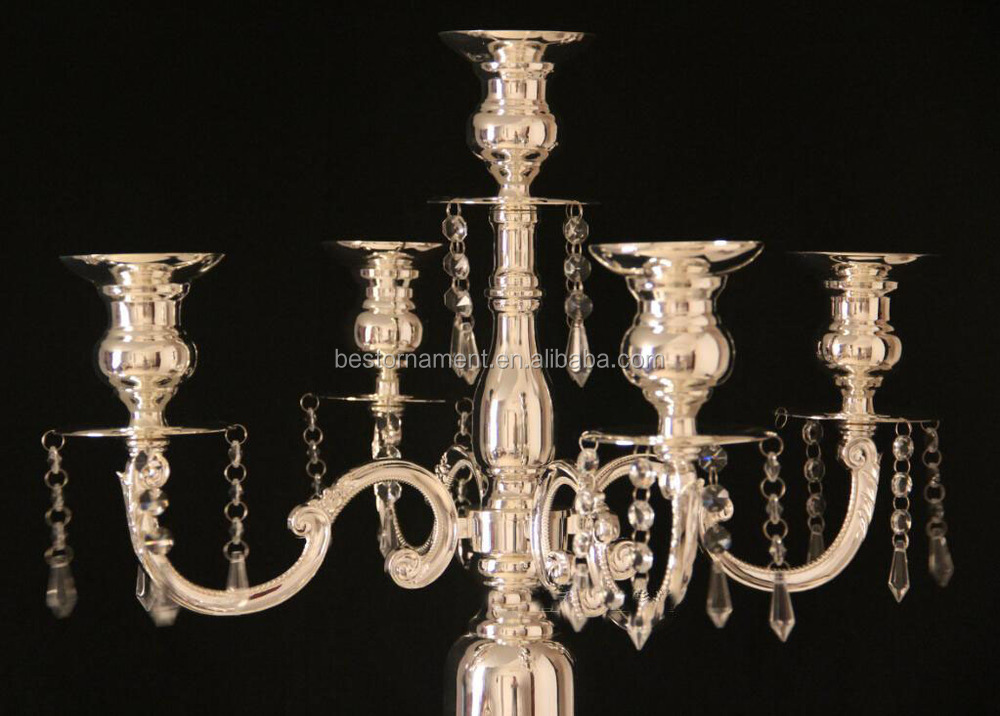Wedding tall candelabra centerpiece buy
