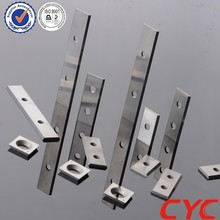 Full sizes carbide cutting knife with hole,tungsten carbide planer blade