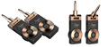Rowin newest wireless guitar system WS-20 Golden Plug with 30m range