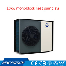 Air to water evi technology monoblock save energy 9kw air source heat pump