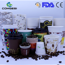 Hot Paper Cups_Coffee Cups Print with Logo_Beverage Paper Cup to Take Out