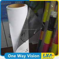 China factory new coming one way vision with transparent paper