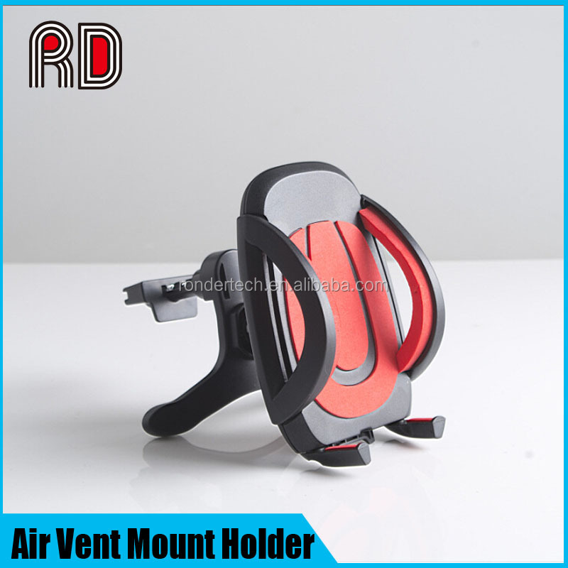 360 degree multifunctional rotation car holder air vent mount for all mobile phone/MP3/MP4/PDA