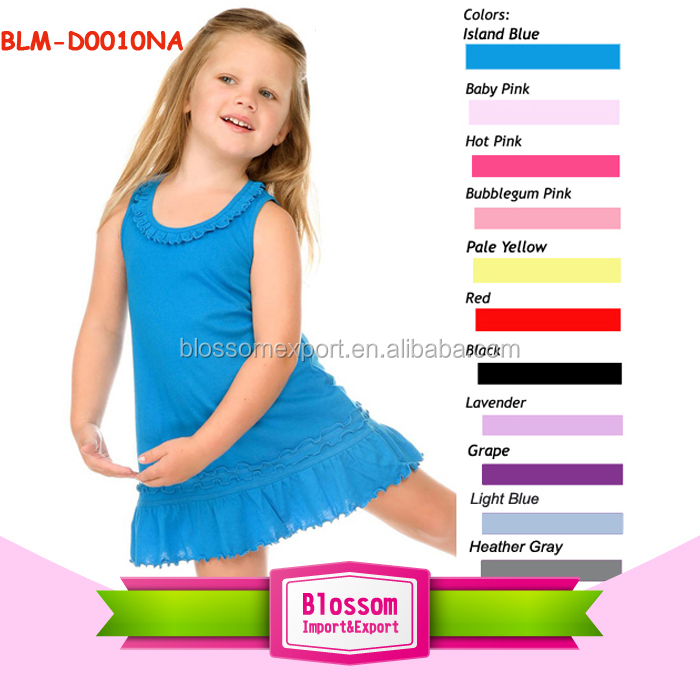 In stock Princess Baby boutique dresses baby clothing manufacturing party ruffle girl dresses casual frocks for teenagers photos