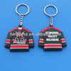 Scorpions Hockey Mulhouse design t-shirt soft plastic keychain
