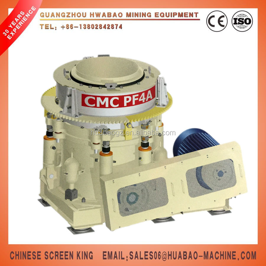 Guangzhou HP100 High-Speed Hydraulic Cone Crusher Machine