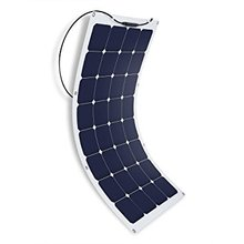 95W 100W 120W 130W 140W 150W 160W 200W Sunpower Semi Flexible Solar Panel for RV BOAT Marine